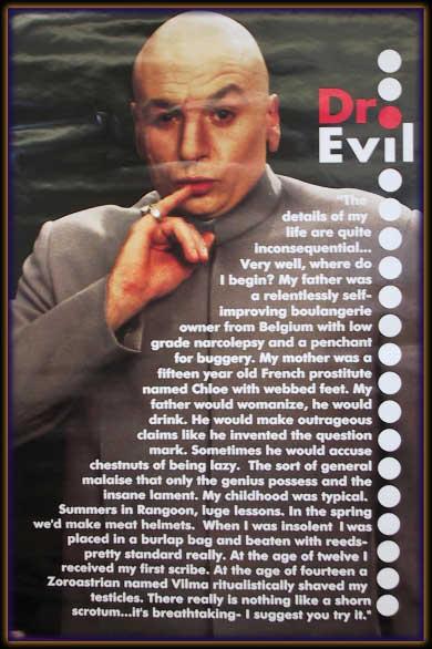Assange is Dr Evil