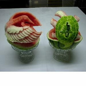water_melon_art_bird_and_turtel