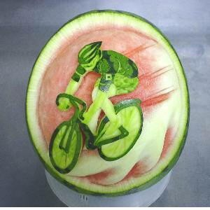 water melon biker art nice