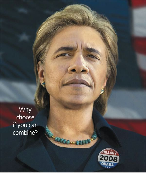 barack obama and hillary clinton combined