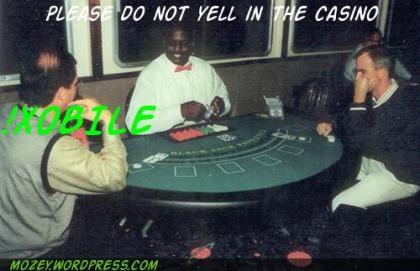 xobile please do not yell in the casino